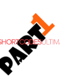 Tutorial Shortcodes ultimate Part 1