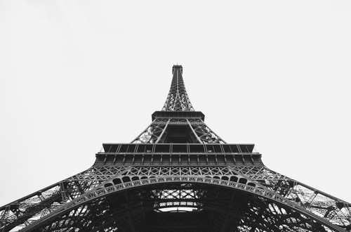 Frame structure Eiffel tower
