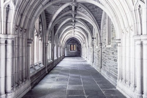 arch structure monastry