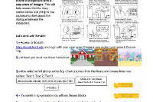 Worksheet Scratch 3.0- End of Course Trip