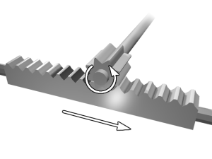 Rack_and_pinion mechanism