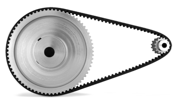 toothed pulleys